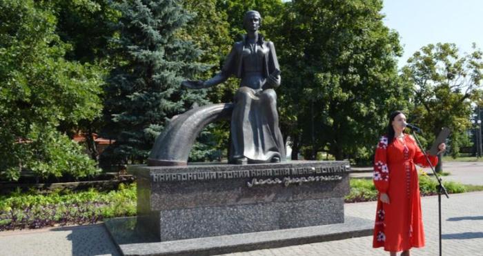 Ковельчани вшанували пам'ять Лесі Українки